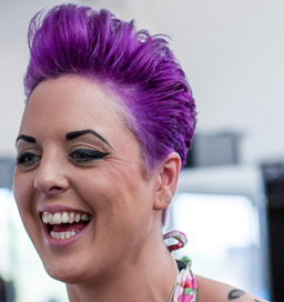 Helen Lewis, Salon Manager and Senior Hair Stylist at Freedom Haircutters